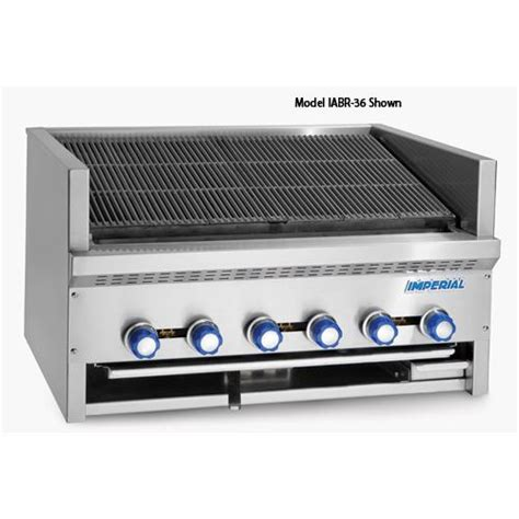 Countertop Broiler by Imperial Iabr 60 60 In Radiant Countertop Steakhouse Char