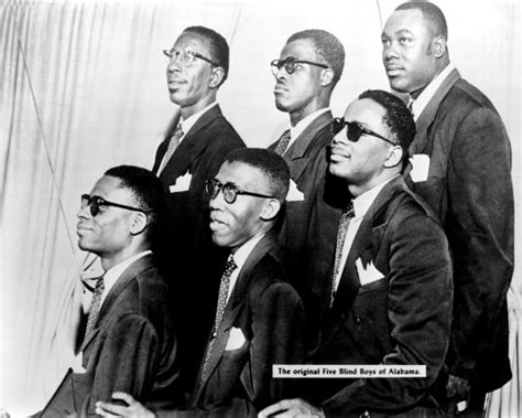 The Blind Boys Of Alabama singers vocal harmony a cappella five blind