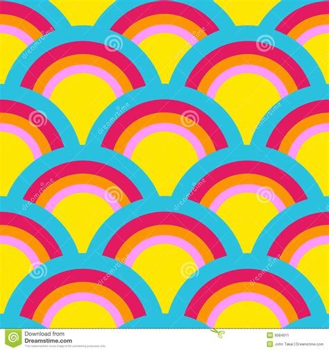 what pattern is the rainbow rainbow pattern stock image image 9584911