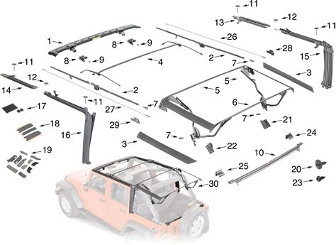 Parts For Jeep Wrangler 2012 Rubicon Soft Top Missing Parts Jeep Wrangler Forum