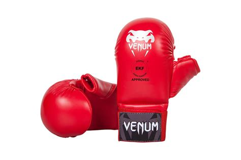 Venum Karate Glove Wkf Approved Blue venum karate mitts with thumb protection dragonsports eu