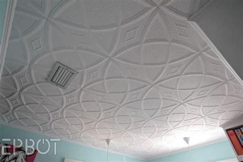 popcorn ceiling tiles epbot diy faux tin tile ceiling styrofoam ceiling tiles