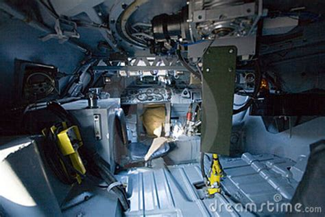 Websites For Interior Designers Military Vehicle Inside View Stock Photo Image 5599350