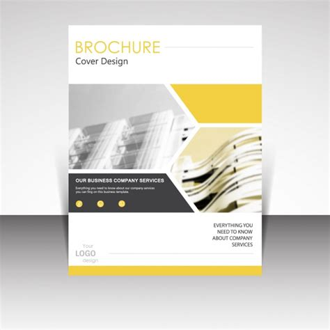 brochure designs vector brochure template design vector free download
