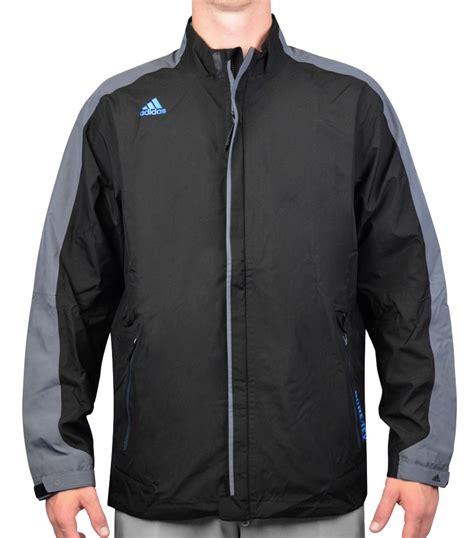 adidas climaproof gore tex full zip rain jacket black aw