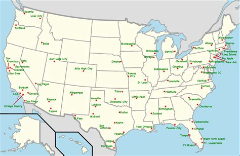 maps of southwest usa file southwest airlines destination map 20110327 png