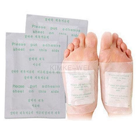 Hiwii Detox Foot Rejuvination Patches by 100 Detox Foot Pads Patch Detoxify Toxins With Adhesive