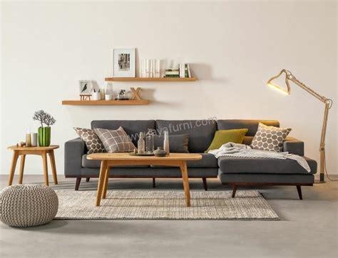 Kursi Sudut Ruang Tamu Sofa Sudut Ruang Tamu Scandinavian Jayafurni Mebel