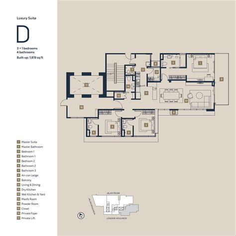 1 moulmein rise floor plan moulmein rise penang property talk