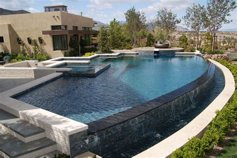 infinity pool designs custom negative edge pool pool pinterest swimming pools
