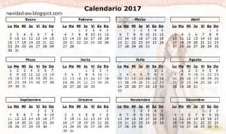 Paraguay Calendario 2018 Navidad Calendario 2017