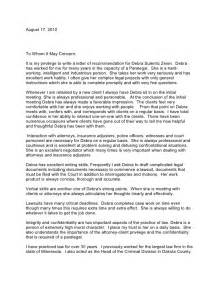 Attorney Recommendation Letter by Deb Zeien Letter Of Recommendation Tvh