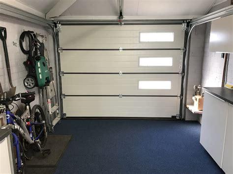 Inside Garage Door Hormann Sectional Garage Door Denton Pennine Garage Doors