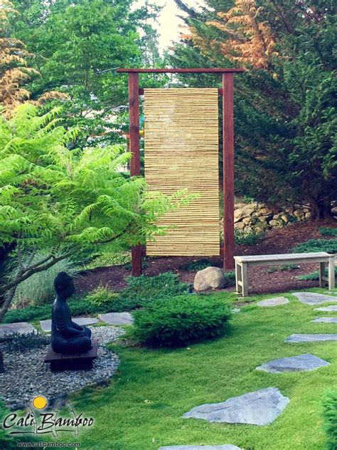 backyard zen garden diy zen garden ideas create a relaxing backyard with bamboo fencing from cali bamboo