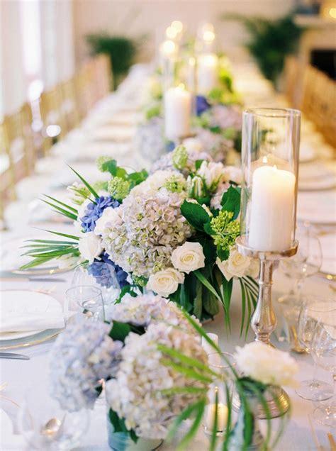 Arranging Roses In Vase Reception D 233 Cor Photos Blue Hydrangea Floral Runner