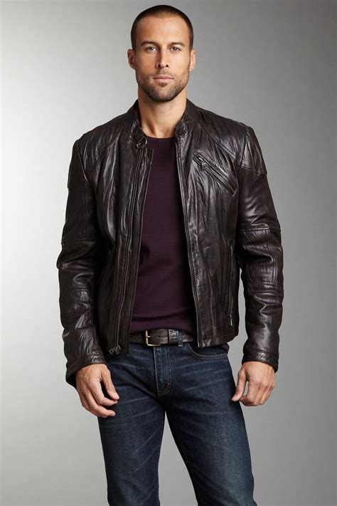 brown leather moto 52 best mens leather jacket images on pinterest leather