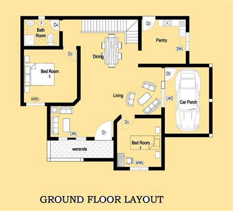 Single Story Modern House Plans In Sri Lanka Escortsea | house plans in sri lanka two story