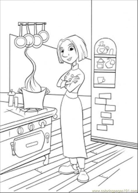 free coloring pages of kitchen safety