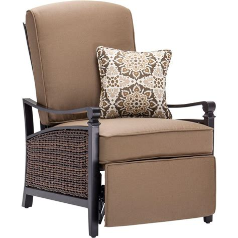 all weather wicker recliner la z boy carson espresso all weather wicker outdoor luxury