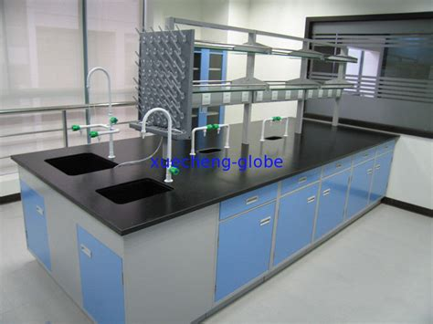 lab bench 3 steel laboratory central table bench 3 0 meters xuecheng
