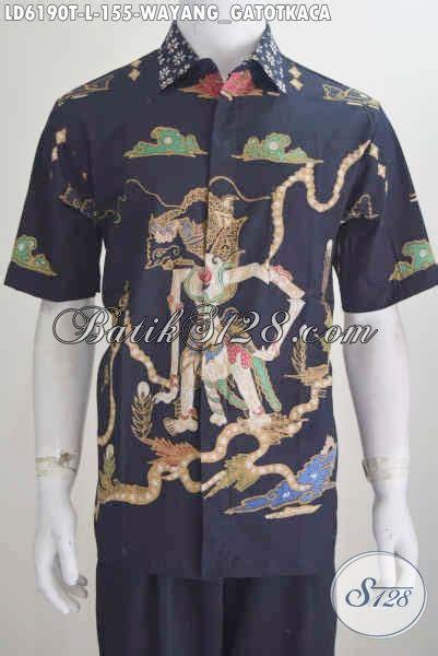 Hem Batik Tulis Katun Murah F10417014mrh Kemeja Batik Anak Ukur 3 kemeja batik wayang buatan hem batik lengan pendek