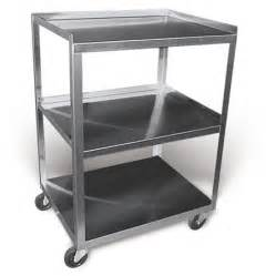 buy stainless steel rolling cart model mc321 3 shelf