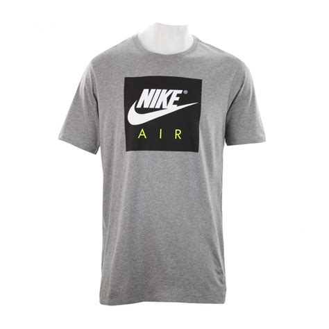 Nike Tshirt Mens nike mens air sport t shirt grey t shirts from loofes uk