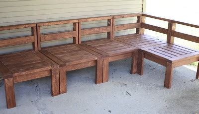 how to build outdoor sectional 5 diy outdoor sofas to build for your deck or patio the