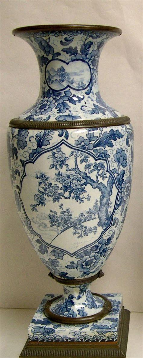 blue pattern vase royal bonn porcelain vases blue and white decoration in