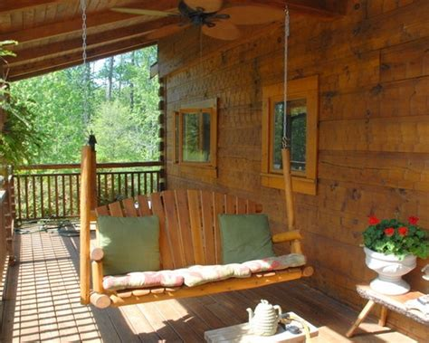 log cabin front porch swing log cabin love pinterest 51 best images about cabin of my dreams on pinterest