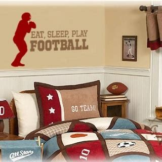 Football Bedroom Decor Jax Boys Rooms Pinterest Football Bedroom Decor