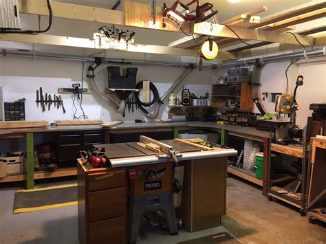 Garage Work Shop | craig s garage workshop the wood whisperer