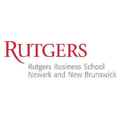 Rutgers Mba Pharmaceutical Management by Rutgers Business School