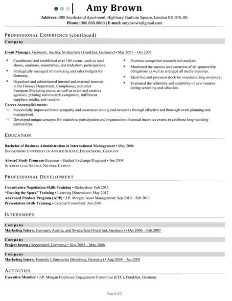 marketing relations and advertising resume sles