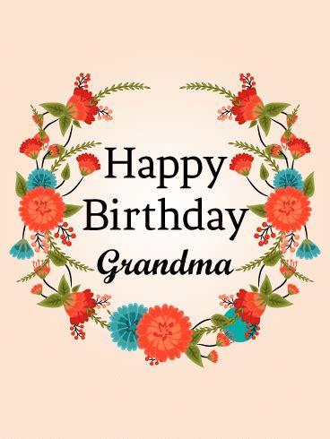 Birthday Card For Grandmother