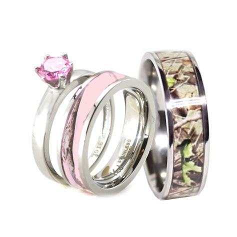 Pink Camo Wedding Ring Sets   www.imgkid.com   The Image Kid Has It!