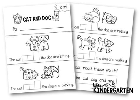 words and your books sight words miss kindergarten