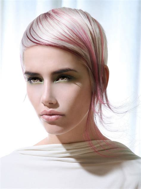 edgy blonde hairstyles edgy hair color trends to try