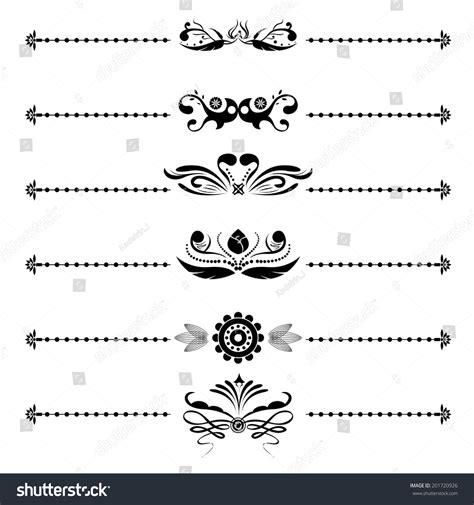 letter header design vector stock vector calligraphic vintage floral vector designs
