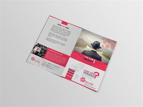bi fold brochure template illustrator bi fold brochure brochure templates on creative market