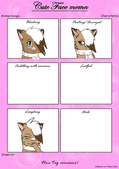 Cute Face Meme - cute face meme unfinished by charlotteblanc on deviantart