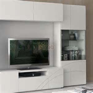 Merveilleux Meuble Bar Moderne #2: composition-murale-meuble-television-moderne-vitrines-clarisse.jpg
