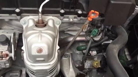 honda accord transmission fluid type 2013 2016 accord 4 cyl cvt transmission fluid change