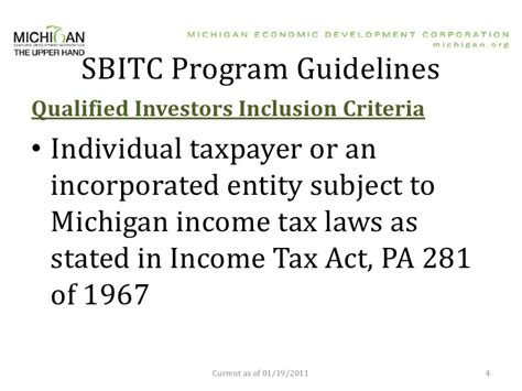 section 25 of income tax act small business investment angel tax credit
