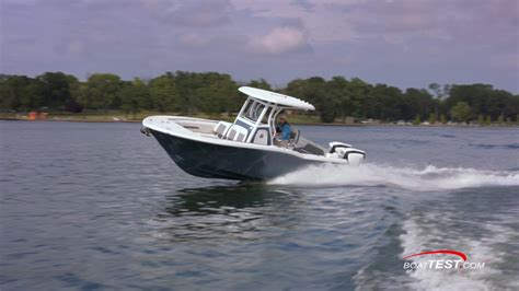 tidewater boats opinions tidewater boats 252 lxf 2017 by boattest youtube