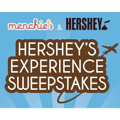 American Sweepstakes And Promotions - hershey s experience sweepstakes from menchie s launches and shortstack introduces