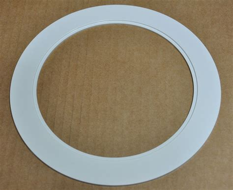 4 can light trim 6 quot inch over size trim ring white oversized trim ring for