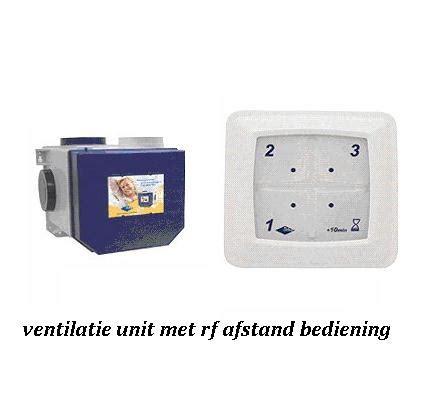 ventilatie badkamer merken ventilatiebox met afstandsbediening aansluiten meterkast