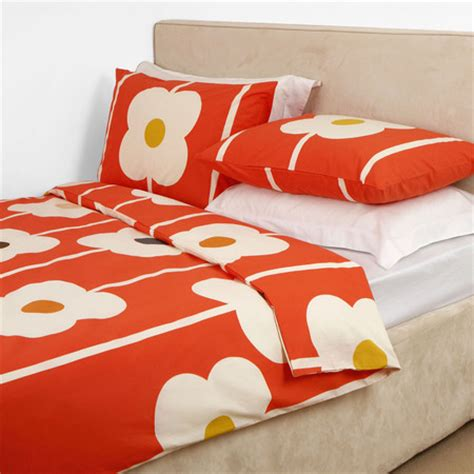 Matching Abacus Wallet Set By Orla Kiely by Orla Kiely Abacus Print Duvet Cover Tomato King At Amara