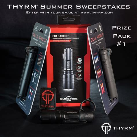 Sweepstakes Starts - thyrm s summer sweepstakes starts today soldier systems daily